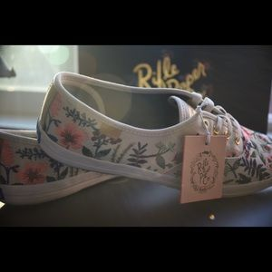 8a586946b131a Keds Shoes - NEW Keds x Rifle Paper Co Champion Herb Garden